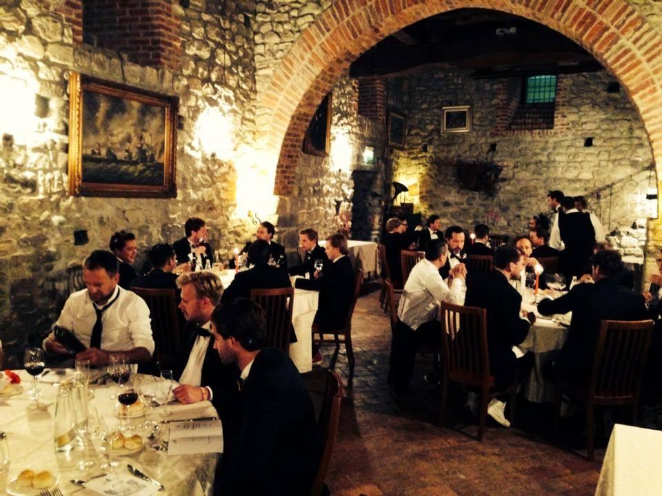 Diners met leden en oud leden